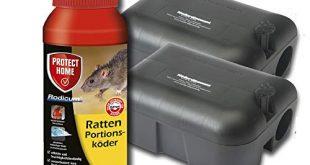 Koeder Discount Sparset Rattenbekaempfung 2 Koederboxen Plus 500g Rodicum Rattengift 310x165 - Köder-Discount Sparset Rattenbekämpfung - 2 Köderboxen Plus 500g Rodicum Rattengift