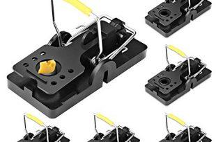 ASPECTEK Mausefalle 6 Pack Schnappfalle wiederverwendbar hygienisch und abwaschbar 310x205 - ASPECTEK Mausefalle - 6-Pack Schnappfalle - wiederverwendbar, hygienisch und abwaschbar - Mäuse Falle in Profi-Qualität
